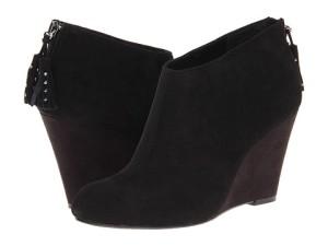 black Anne Klein booties