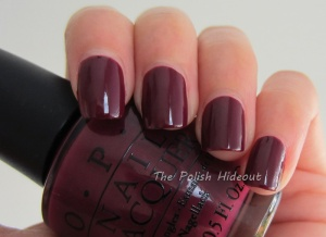 OPI Casino Royale Swatch1